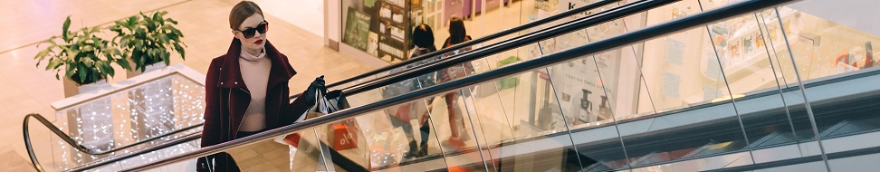 WiFi dans une galerie marchande