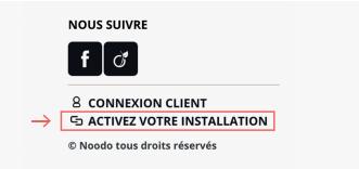 Activer hotspot wifi