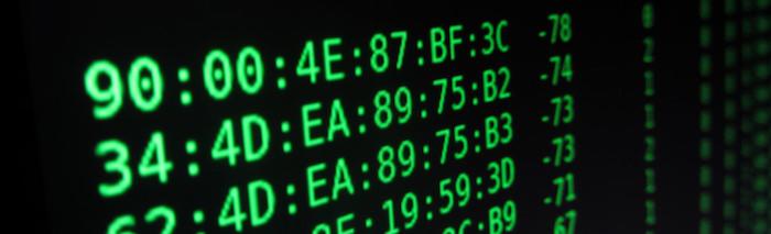 Exemples d'adresses MAC
