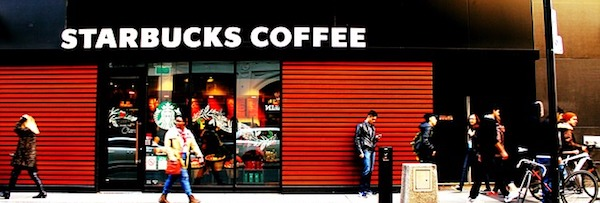 Le WiFi gratuit chez Starbucks